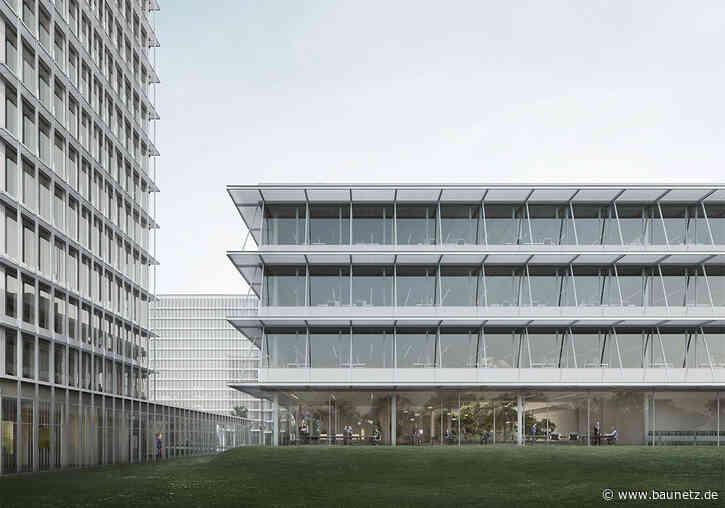 Campus Deutsche Bundesbank  - Morger Partner Architekten gewinnen in Frankfurt am Main