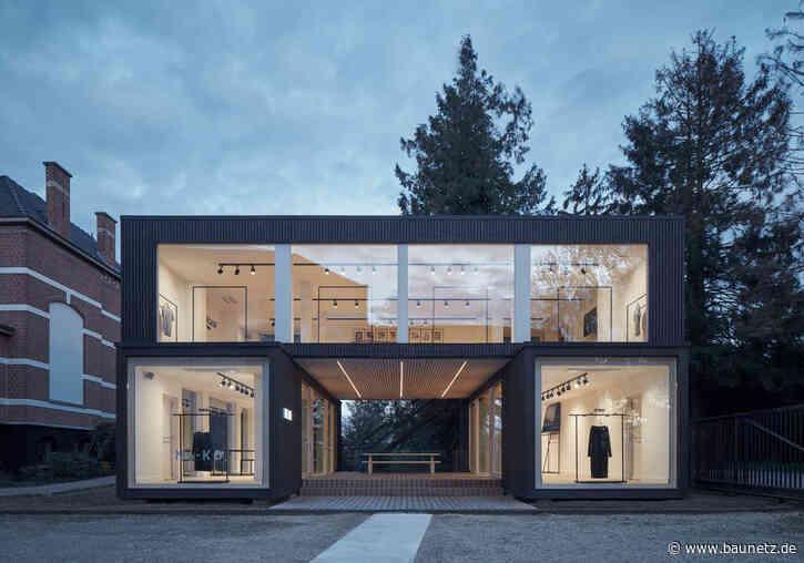 Modular und elegant  - Showroom in Flandern von Ark-Shelter