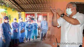 Edil de Sonzacate, Héctor Orellena contrata médicos para detección de COVID19 en sus comunidades - Diario La Huella