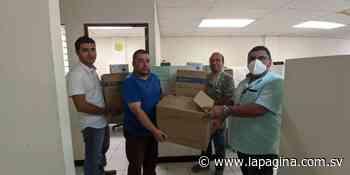 Alcaldía de Sonzacate entrega insumos a médicos que atiende en primera línea el coronavirus - Diario La Página - Diario La Página