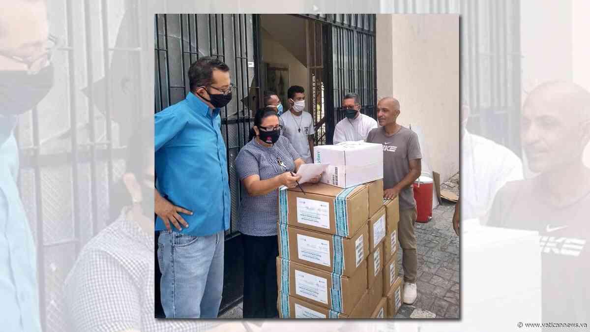 Cáritas Venezuela envía cargamento a la Diócesis de San Fernando de Apure - Vatican News
