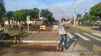 Passarelas elevadas melhoram segurança no trânsito em Aquidauana - O Pantaneiro