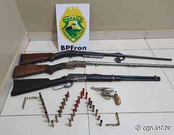 BPFron apreende armas e munições em Santa Isabel do Ivaí - CGN