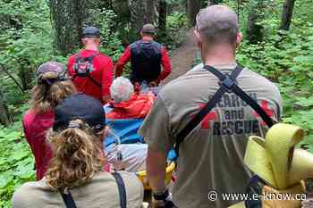 Fernie SAR rescue injured trail rider | Elk Valley, Fernie - E-Know.ca