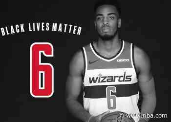 Nine Wizards to wear social justice messages on jerseys when play resumes