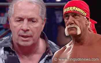 """Bret Hart's Reveals His """"Rating"""" For Hulk Hogan - Ringside News"""