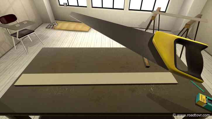 VR Woodworking Game 'vrkshop' Arrives on Steam Early Access Today