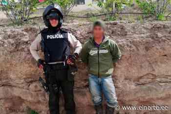 Capturado sospechoso de delito sexual en Pimampiro - Diario El Norte