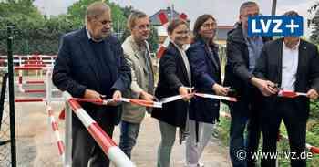 Übergang an Bahnstrecke in Brandis eröffnet - Leipziger Volkszeitung