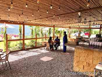 Primer restaurante en abrir puertas está en Pinchote, Santander - Canal TRO