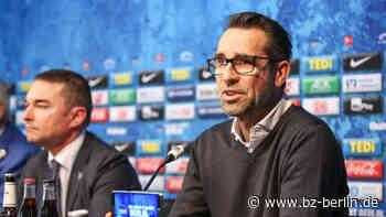 Hertha-Manager Preetz wird erst auf dem Transfermarkt aktiv, wenn die Preise fallen - B.Z. Berlin