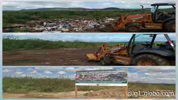 Prefeitura de Serra Talhada realiza limpeza e instalação de placas contra descarte irregular - G1