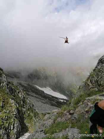 Valchiavenna: precipita per 150 metri, muore 37enne di Mariano Comense - Prima Como