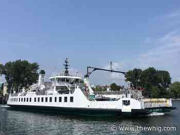 Wolfe Island ferry shifts to winter dock for next three years - The Kingston Whig-Standard