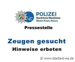 Dormagen: Offenbar Angetrunkene entblößen sich auf Bahnsteig | Rhein-Kreis Nachrichten - Klartext-NE.de