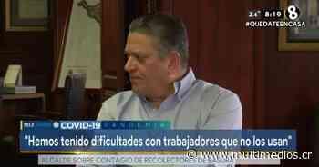 """Johnny Araya: """"Tampoco se trata que el alcalde esté en las cuarterías"""" - Multimedios Costa Rica"""