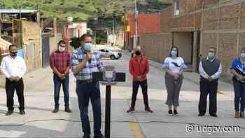 Inauguran obra pública en colonia Las Huertas en Atotonilco el Alto - UDG TV