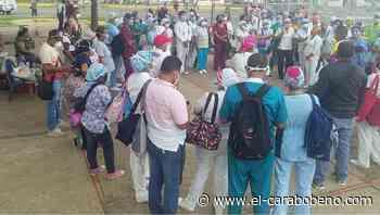 Con un tapaboca semanal, personal de salud de hospital de Ciudad Bolívar enfrenta repunte de COVID-19 - El Carabobeño