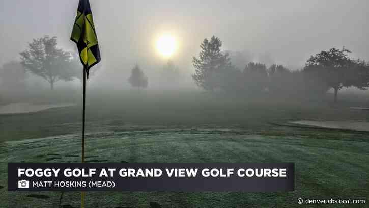 Summer Fog Blankets Colorado's Front Range
