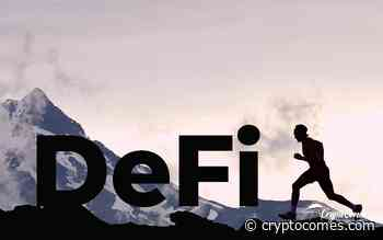 DeFi's Insane Run Led by Aave (LEND) and Kyber Network (KNC), Trading Volume Skyrockets: Coingecko A - CryptoComes