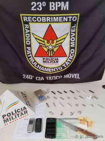 Dupla é detida com mais de 50 porções de crack em Pitangui - G1