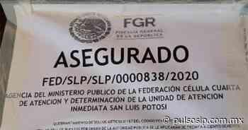 Asegura FGR dos inmuebles donde hallaron drogas, vehículos y armas en Rioverde - Pulso de San Luis