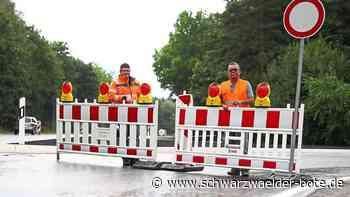 Villingen-Schwenningen: Sanierung: Halbzeit auf der B 33 - Villingen-Schwenningen - Schwarzwälder Bote