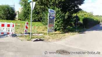 Villingen-Schwenningen: Sanierte Straße schon beschädigt - Villingen-Schwenningen - Schwarzwälder Bote