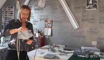 Evron : la couturière se reconvertit provisoirement | Le Courrier de la Mayenne - actu.fr