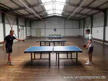 Tischtennis-Halle ist geöffnet | Langeoog Aktuell - Langeoog News