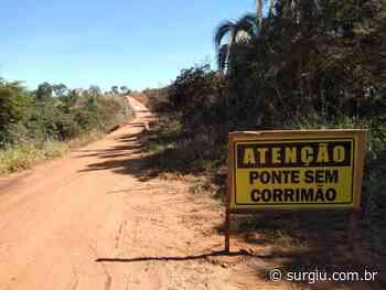 Prefeitura de Miracema sinaliza ponte do Córrego Saltinho - Surgiu