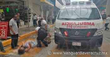Mujer se lesiona cuando transitaba por el bulevar Adolfo Ruiz Cortines - Vanguardia de Veracruz