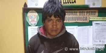 Santiago de Chuco: joven de 19 años ataca con un cuchillo a un policía - La Industria.pe