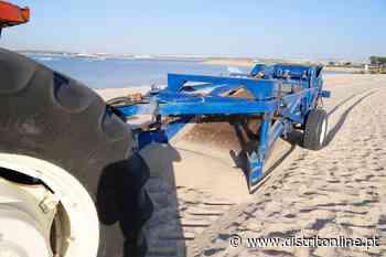 Limpeza do areal nas praias de Alburrica e Mexilhoeiro – Valorização e limpeza desta zona ribeirinha do Barreiro - Distrito Online