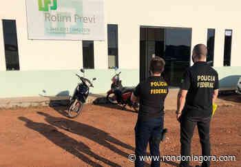 PF descobre esquema milionário em Rolim de Moura e realiza operação com 200 homens em 5 estados - Jornal Rondoniagora