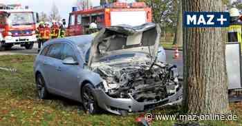 Autofahrer bei Unfall auf B2 in Dietersdorf leicht verletzt - Märkische Allgemeine Zeitung