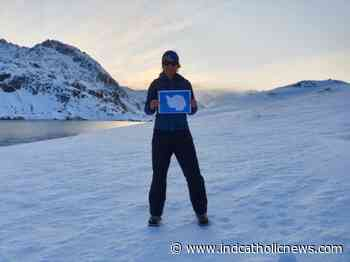 Manchester: Saint Paul's flags in Antarctica! | ICN - Independent Catholic News