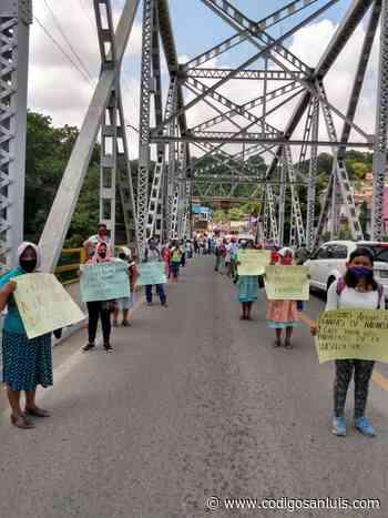 Antorcha demanda atención a carreteras de Tamazunchale - Código San Luis