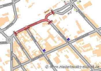 Grundhafter Ausbau der Bahnhofstraße in Finsterwalde - NIEDERLAUSITZ aktuell