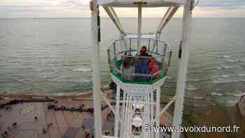 À bord de la grande roue, nos plus belles photos de Wimereux vu d'en haut - La Voix du Nord