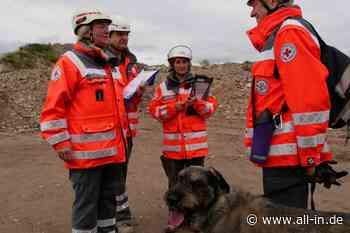 Ungewöhnliche Trainingsmöglichkeit: Trümmersuchhunde in der Schlossbergklinik in Oberstaufen - Oberstaufen - all-in.de - Das Allgäu Online!