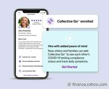 UrbanSitter Chooses Collective Go™ To Help Facilitate Safer Childcare For Families - Yahoo Finance