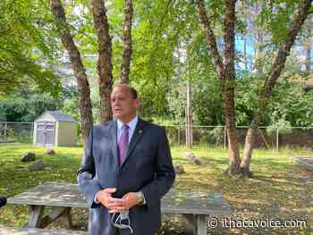 Tom Reed visits Ithaca Community Childcare Center, promises funding in upcoming CARES act - The Ithaca Voice