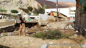 Ejecutivo amplía estado de emergencia por deslizamientos en Ilabaya, Tacna - América Televisión