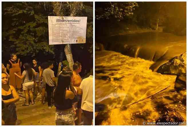 Una mujer murió tras creciente en río de Viotá, en Cundinamarca - ElEspectador.com