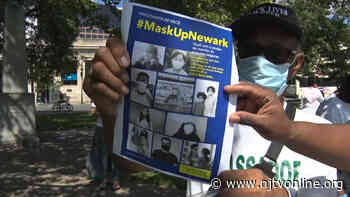 Newark police and ambassadors urge mask wearing | Video - NJTV News