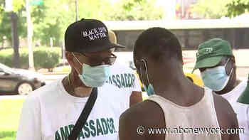 'Mask Up Newark' Campaign Launches - NBC New York