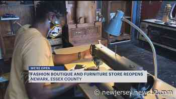 Newark clothing boutique and furniture store finds ways to remain relevant in COVID-19 world - News 12 New Jersey