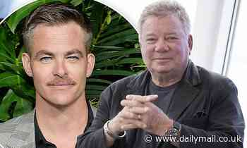 William Shatner says he hopes Star Trek reboot's Chris Pine would play him in a biopic - Daily Mail
