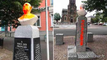 Hautmont : Le buste du général De Gaulle tagué - L'Observateur